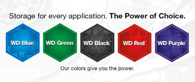 warna HDD wd color