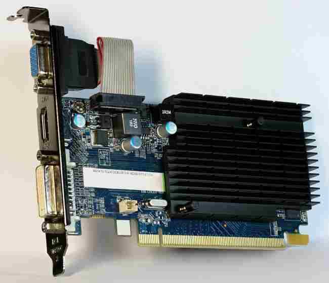 Sapphire Radeon HD 5450 - frontside