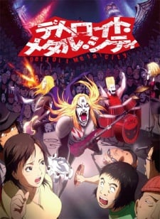 detroit metal city anime rock