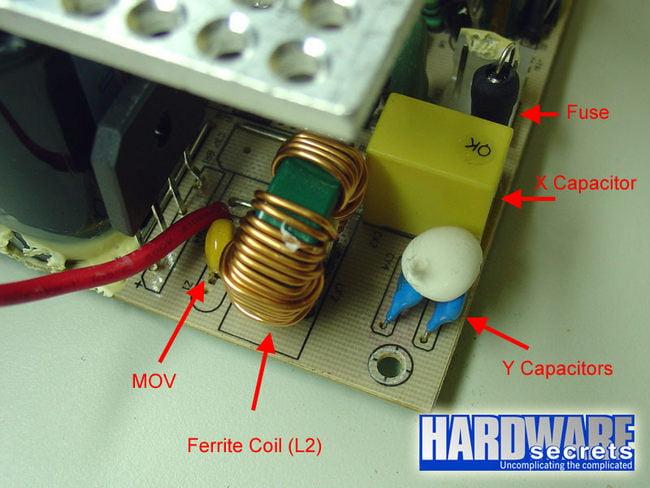 Komponen Transient Lengkap Dari Salah Satu PSU Branded